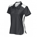 wilson - tricou wilson short sleeve polo, femei, negru, s