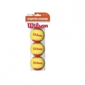 wilson - set mingi tenis wilson starter orange tball 3pack
