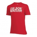 wilson - tricou wilson jr. tshirt rd, juniori, rosu, xl