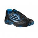 wilson - pantofi sport wilson tour vision, femei, negru, 38⅓