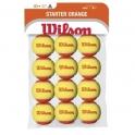 wilson - mingi wilson starter orange tball 12pack