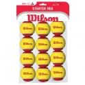 wilson - set mingi tenis wilson starter red tball 12pack