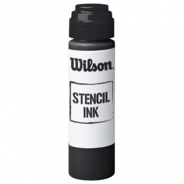 wilson - regular stencil ink bk