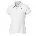 wilson - tricou wilson jr. ss polo, fete, alb, l