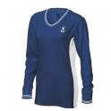 wilson - bluza wilson hall of fame v neck, femei, albastru, s