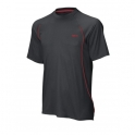 wilson - tricou wilson str sets, juniori, negru, s
