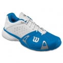 wilson - pantofi sport wilson rush pro cc, barbati, alb/albastru, 42