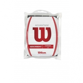 wilson - advantage overgrip bk 12pk