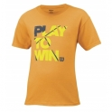 wilson - tricou wilson play to win, juniori, portocaliu, xs