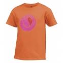 wilson - tricou wilson g heart tennis ball, juniori, portocaliu, s