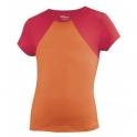 wilson - tricou wilson solana, fete, portocaliu, s
