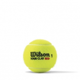 wilson - set mingi tenis wilson tour clay red 4tball