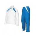 wilson - trening wilson junior woven warm-up, copii, alb/albastru, l