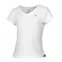 wilson - tricou wilson jr. ss v-neck, fete, alb, l