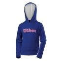 wilson - hanorac wilson new knit hoody, albastru, l