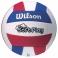 Minge volei Wilson SUPER SOFT PLAY, rosu/albastru
