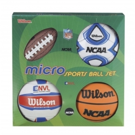 wilson - micro sports 4ball kit