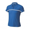 wilson - tricou wilson team polo pentru fete, albastru,  s