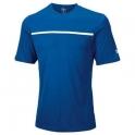 wilson - tricou wilson team crew pentru juniori, bleumarin, xs