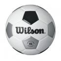 Minge fotbal Wilson TRADITIONAL, alb/negru, marime 5
