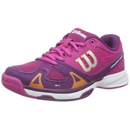 wilson - pantofi sport wilson rush pro, copii, multicolor, 27