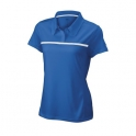 wilson - tricou wilson team polo, femei, albastru, m