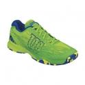 Pantofi sport Wilson KAOS CLAY COURT, barbati, verde lime, 42