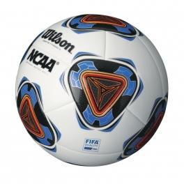 wilson - minge fotbal wilson forte fybrid ii, alb/albastru, marime 9