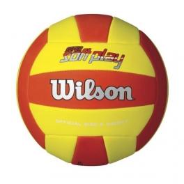 wilson - minge volei super soft play volleyball rdye