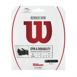 wilson - racordaj wilson revolve spin 17, negru