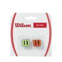 wilson - antivibrator wilson pro feel, verde/portocaliu