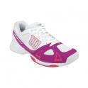 wilson - pantofi sport wilson rush evo, femei, alb/roz, 39