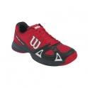wilson - pantofi sport wilson rush pro junior, rosu/negru