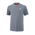 wilson - tricou wilson summer henley, juniori, gri, s