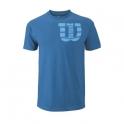 wilson - tricou wilson shoulder w, barbati, albastru, s