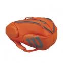 wilson - termobag wilson vancouver 9 rachete, portocaliu