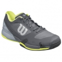 wilson - pantofi sport wilson rush pro 2.5 clay, barbati, gri, 46.5