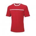 wilson -  tricou wilson team crew, barbati, rosu, l