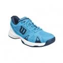 wilson - pantofi sport wilson rush pro 2.5, copii, bleu, 28⅔