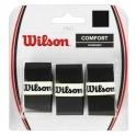 wilson - set overgrip wilson pro, negru, 3 bucati