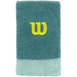 wilson - bandana incheietura extra lata wilson, verde marin