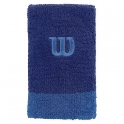 Bandana incheietura extra lata Wilson, albastru