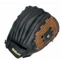 Manusa de baseball Wilson, mana dreapta, 12-inch, negru / maro