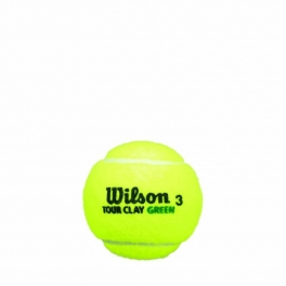 wilson - set mingi tenis wilson tour clay 3 ball can