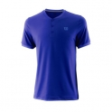 wilson - tricou wilson uwii henley, barbati, albastru, l