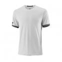 wilson - tricou wilson team solid crew, barbati, alb, l