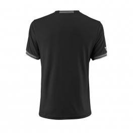 wilson - tricou wilson team solid crew, barbati, negru, l