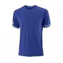Tricou Wilson Team Solid Crew, barbati, albastru, L