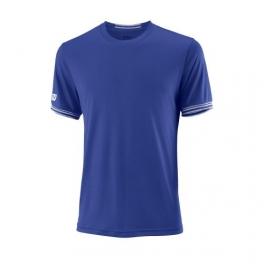 wilson - tricou wilson team solid crew, barbati, albastru, l