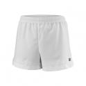 wilson - pantaloni scurti wilson team 3.5, fete, alb, s